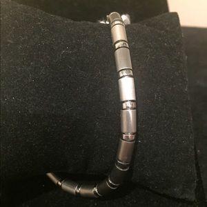 Men's stainless steel link bracelet NWOT